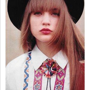 Jewelry - Vintage Worry Doll Bolo Tie